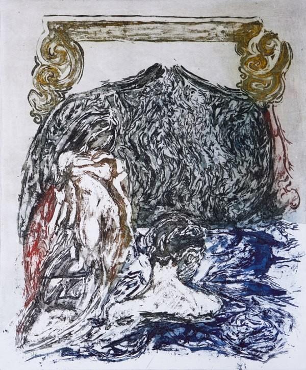 Erotokritos Aretousa 2011 , Sugar with Aquatitnt , 40cm x 50cm